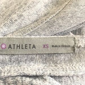 Athleta Tops - Athleta Pose Heather Crossover T-back Top Size XS